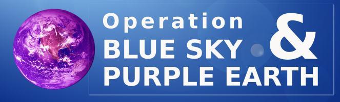 Operation Blue Sky -& Purple Earth LOGO kl